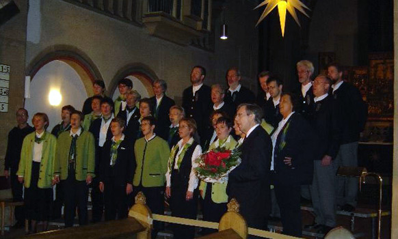 Adventskonzert 2003 in der Stiftskirche Obernkirchen