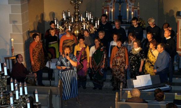 Konzertreihe ist ein voller Erfolg: Schütte-Chor und Männergesangverein begeistern in der Pollhäger St. Johanniskirche