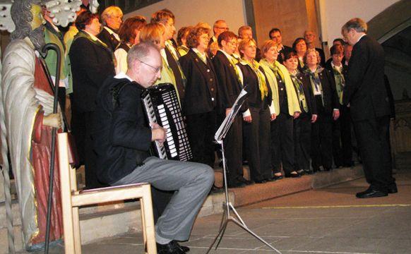 Chorkonzert zum Advent am 11.12.2009 in der Stiftskirche Obernkirchen