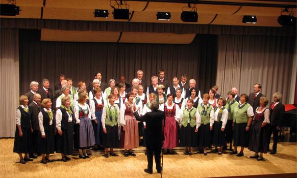Gemeinschaftskonzert mit der Singgemeinschaft Weissensee