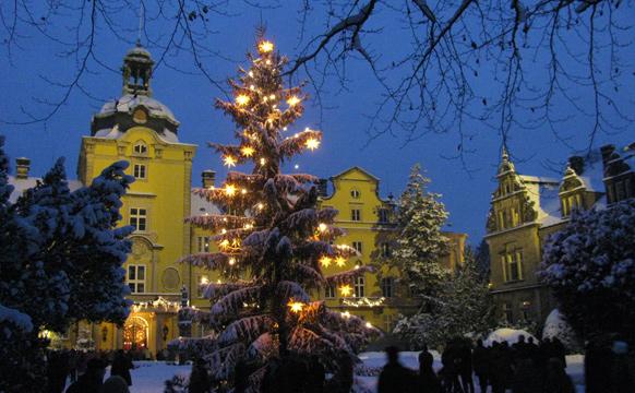 Weihnachtsserenade am Schloss Bückeburg