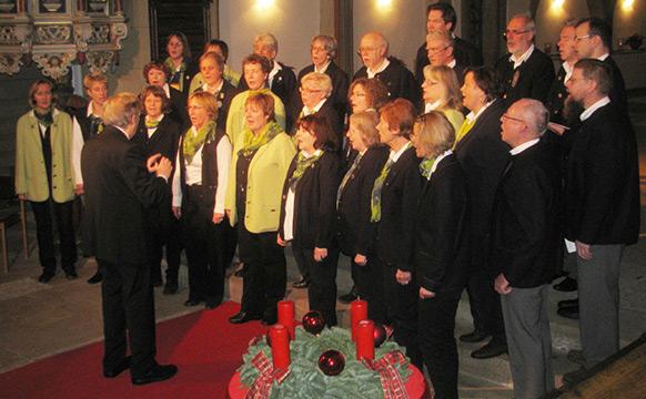 Chorkonzert zum Advent am 14.12.2012 in der Stiftskirche Obernkirchen