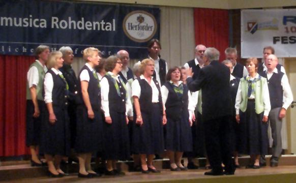 Jubiläumskonzert 25 Jahre Musica Rohdental am 25.10.2014