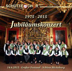 """Inhalt der CD """"Jubiläumskonzert"""""""