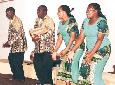 Lebendige Spirituals bot das Fuizai Quartett in der Petrikirche. (Foto: Rolf Graff)