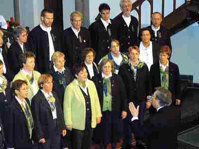 """""""Swing low"""" heißt die neue CD des Schütte-Chores, die im Rahmen einer Matinée am 6. November präsentiert wird."""