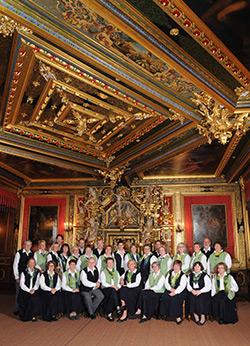 Foto 1: Schütte-Chor - Goldener Saal Schloss Bückeburg