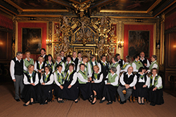 Foto 5: Schütte-Chor - Goldener Saal Schloss Bückeburg